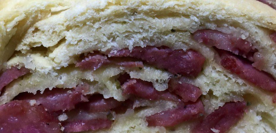 Pão de Calabresa - Receita
