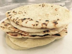 Pão Sírio ou Pão Pita - Receita
