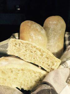 Pão Ciabatta - Receita