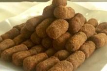 Salgadinhos para festas - Croquete de carne
