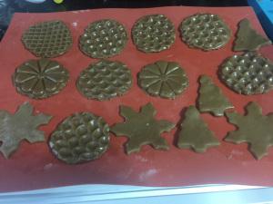 Gingerbreads prontos para ir ao forno @bakeandcakebr