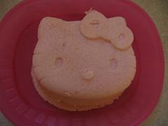 Hello Kitty Microwave Cake