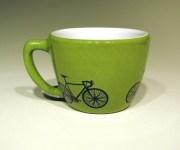 Bike Mug by Circa Ceramics