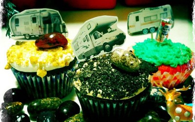 Tropical Punch Kool-Aid Cupcakes