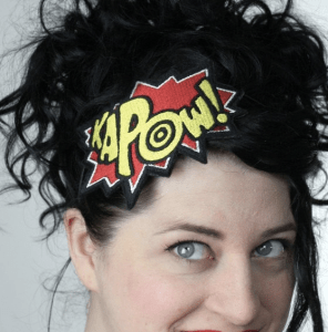 comic book headband
