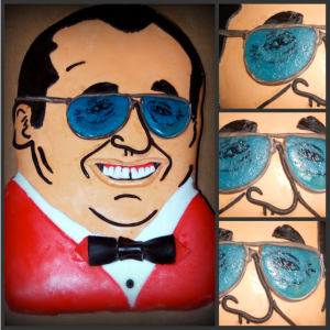 Gorilla Monsoon Cake