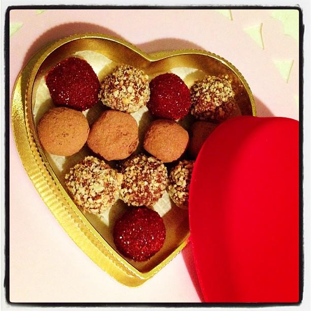 Bake and Destroy Valentine's Day Vegan Truffles