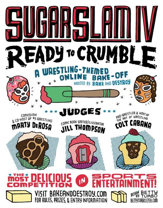 SugarSlam 2014 poster