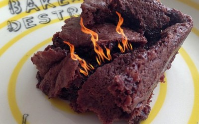 Ring of Fire Brownie Recipe