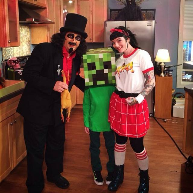 Bake and Destroy Halloween on You & Me This Morning