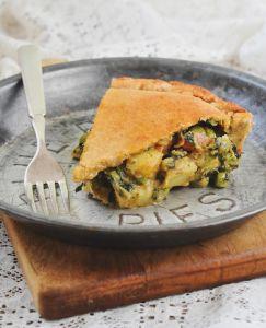vegan samoa pot pie bake and destroy