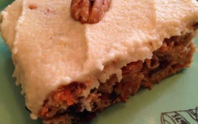 Food Puncher: Vegan Carrot Cake Recipe Review