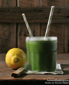 vegan green smoothie recipe