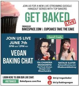 get baked live vegan chat
