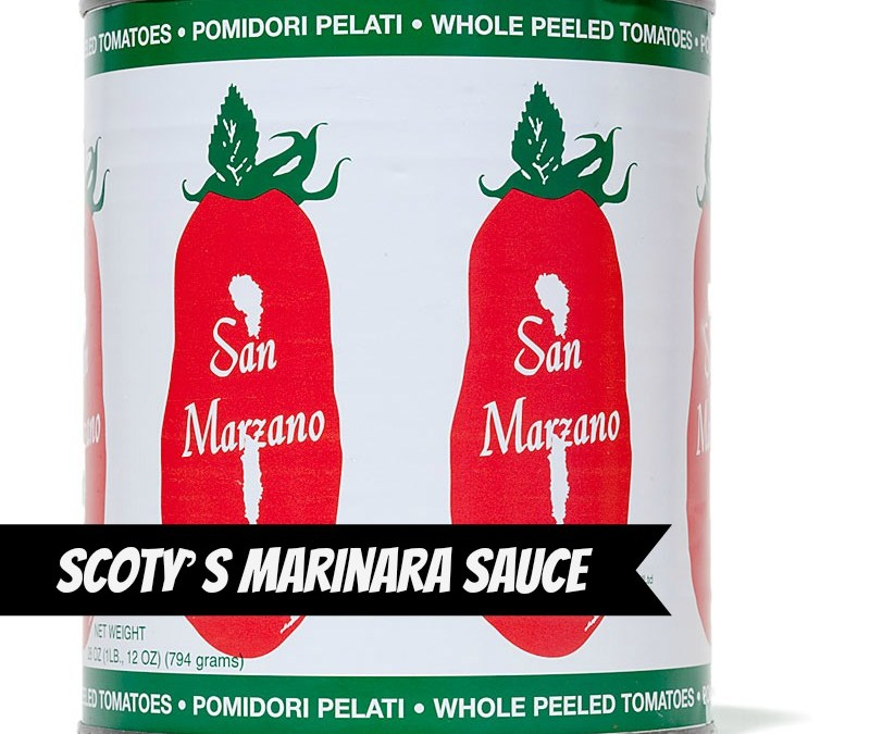 Scoty's Marinara Sauce from Crossroads by Tal Ronnen