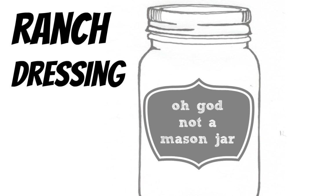 The Make Ahead Vegan: Ranch Dressing