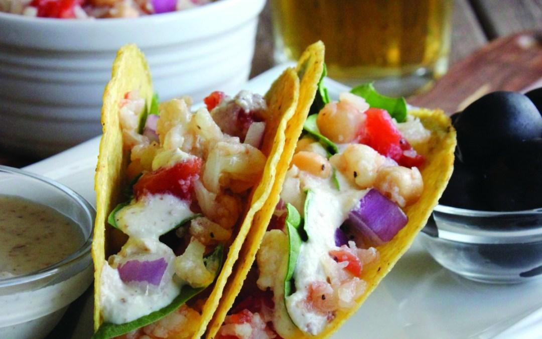 The Make Ahead Vegan: Ranch Tacos