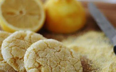 The Vegan Cookie Connoisseur: Lemon Cornmeal Cookies