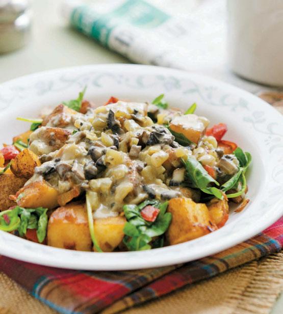 Vegan Bowl Attack! Loaded Potato Breakfast Bowl Recipe