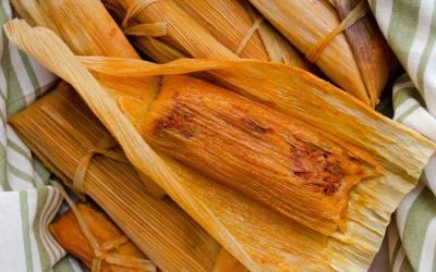 Vegan Tamales Unwrapped: Red Chile Jackfruit Tamales