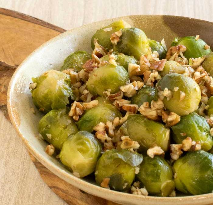The Ultimate Vegan Cookbook for Your Instant Pot: Smoky Pecan Brussels Sprouts Recipe