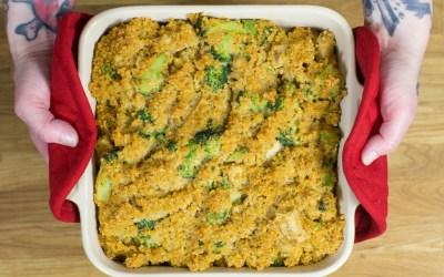 Recipe: Nacho Chee-zee Toasted Quinoa Casserole