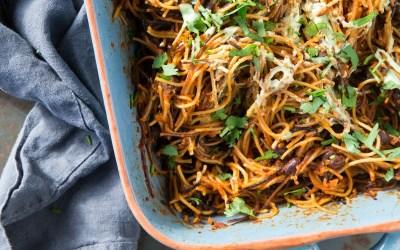 Smith & Daughters Cookbook: Sopa Seca Peruvian Pasta Bake Recipe