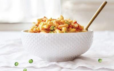 YumUniverse Pantry to Plate: Vegan Sriracha Mac Recipe