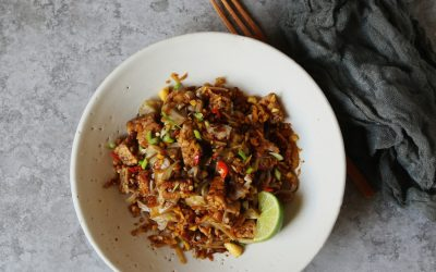 Bold Flavored Vegan Cooking: Quick and Easy Pad Thai Recipe