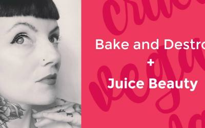 The Bake and Destroy Juice Beauty Vegan Skincare & Beauty Mixer