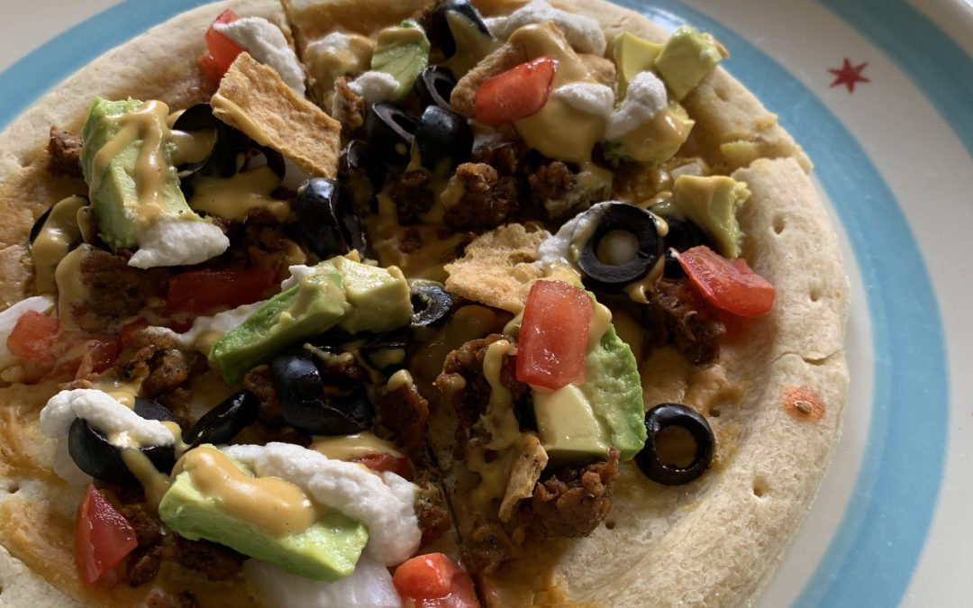 Vegan Nachos Rule Pizza