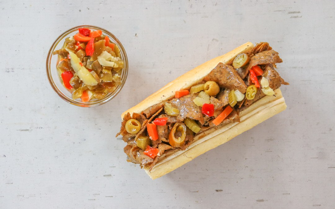 Chicago's Buona Launches a Plant-Based Italian Beefless Sandwich with Upton's Naturals