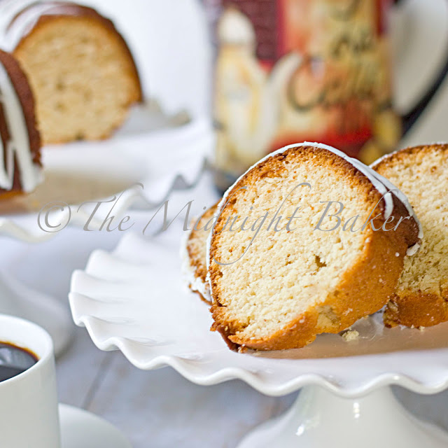 Absolutely Almond Pound Cake