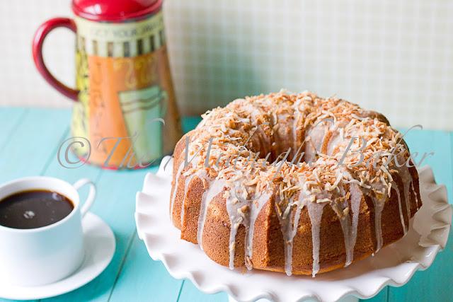 Coco Lemon Pound Cake