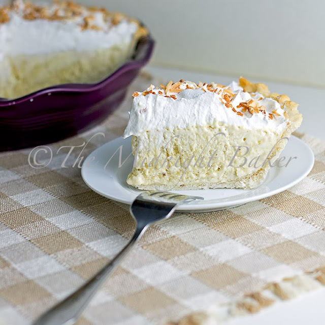 Banana Cream Pie in Revol Crumpled Plie Plate