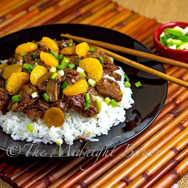 Ginger Beef with Mandarin Oranges #SlowCooker #CrockPot #AsianGingerBeef