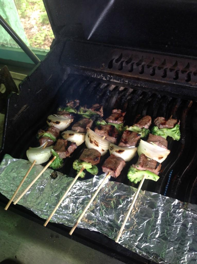 Grilling Kabobs #shishkabob #bbq #BeefKabobs