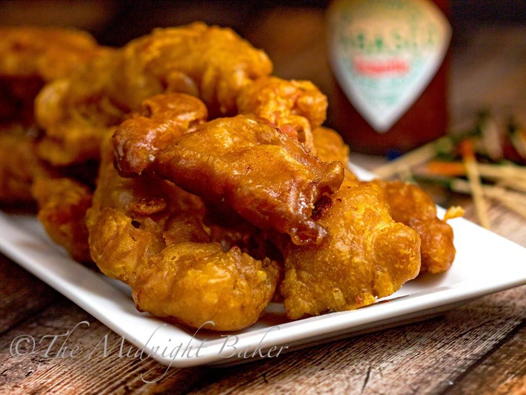 tabasco chipotle fried bacon   bakeatmidnite.com   #bacon #SeasonedGreetings #ad