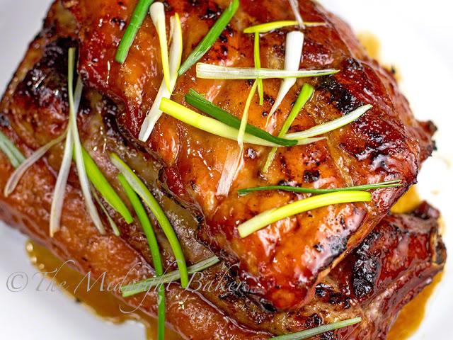 Honey Soy Ribs   bakeatmidnite.com   #pork #ribs #recipe