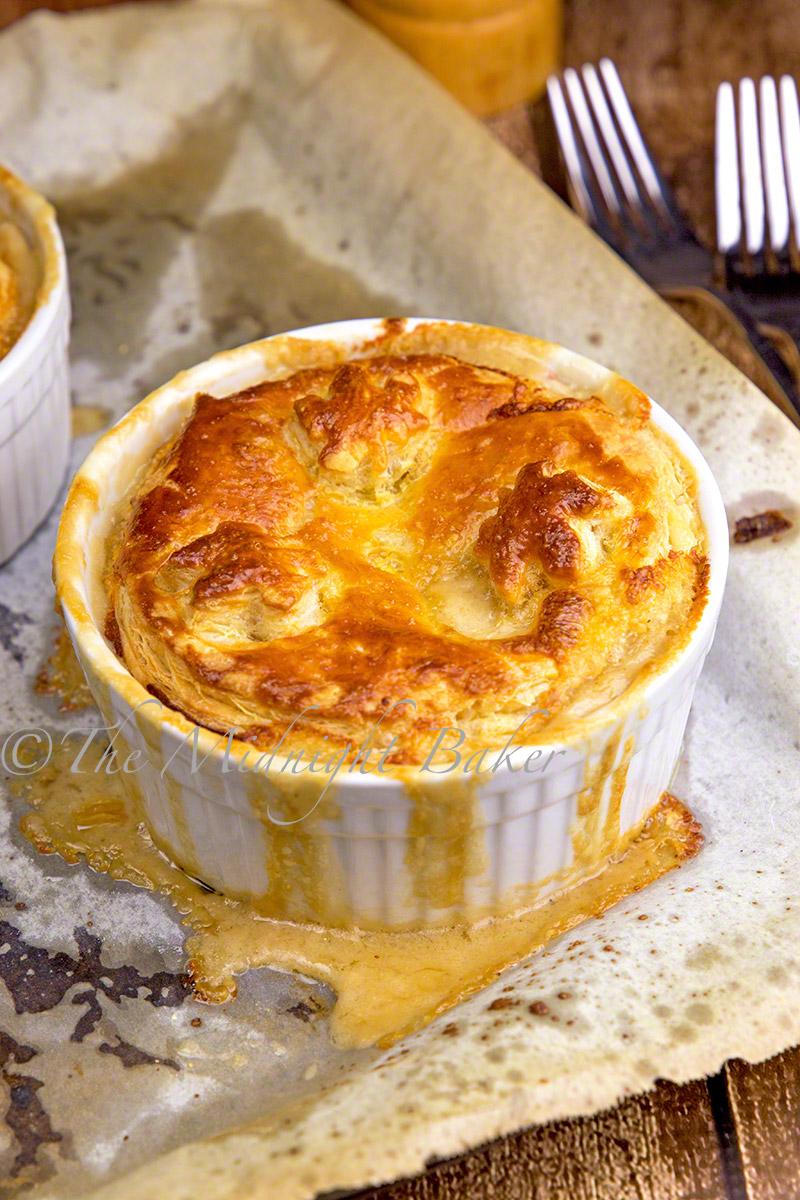 Chicken Alfredo Pot Pie