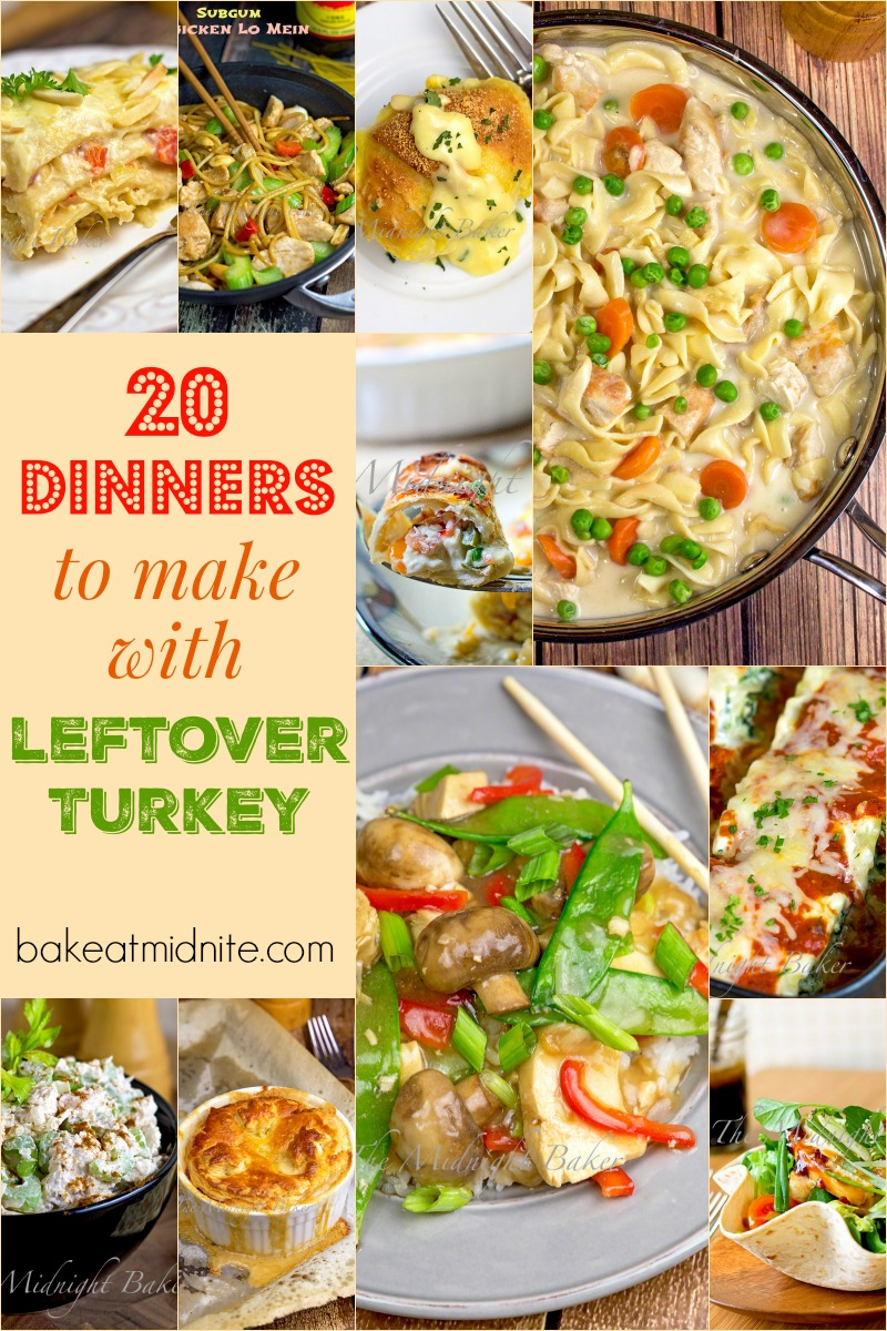 20 Recipes for Leftover Turkey