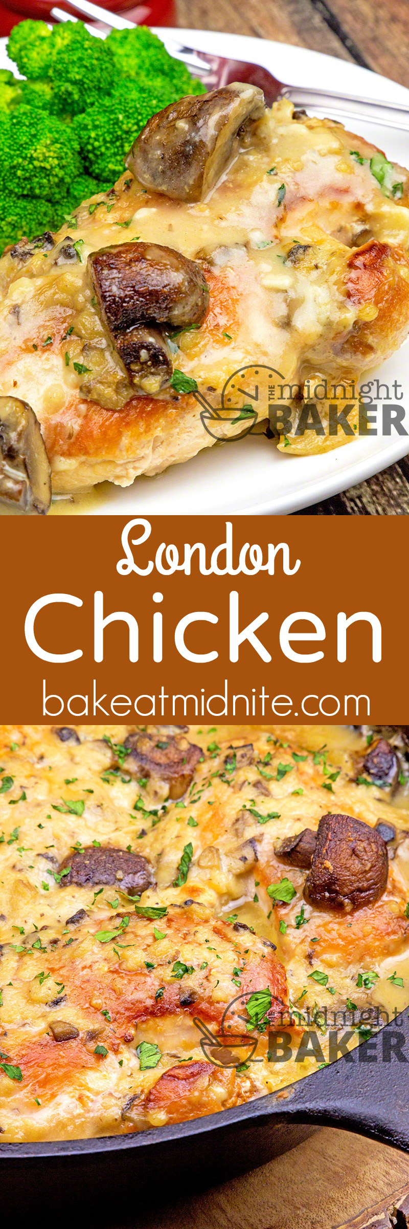 One of the most delicious and easy chicken dinners you'll ever make! Only 3 ingredients!
