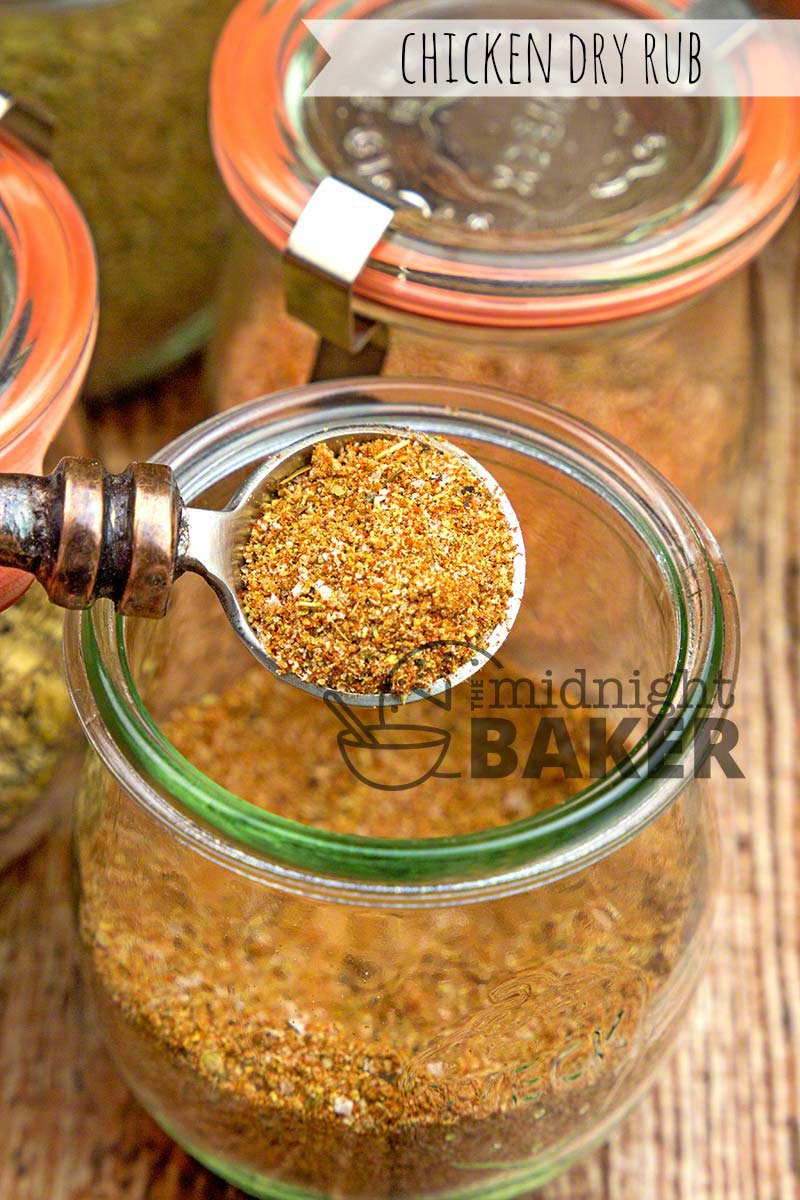Give all your chicken dishes excellent flavor with this dry rub.