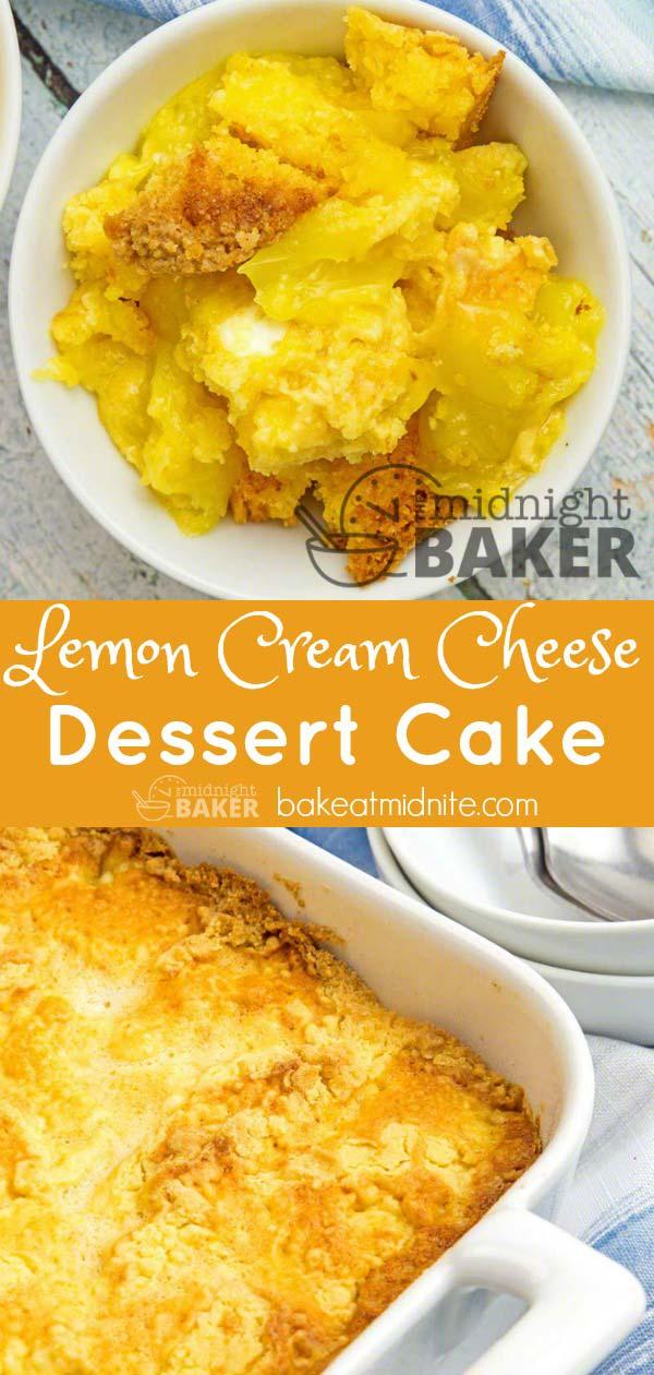 This dump cake is a lemon lover's dream