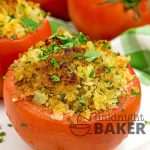 Great way to use those end-of-season tomatoes!