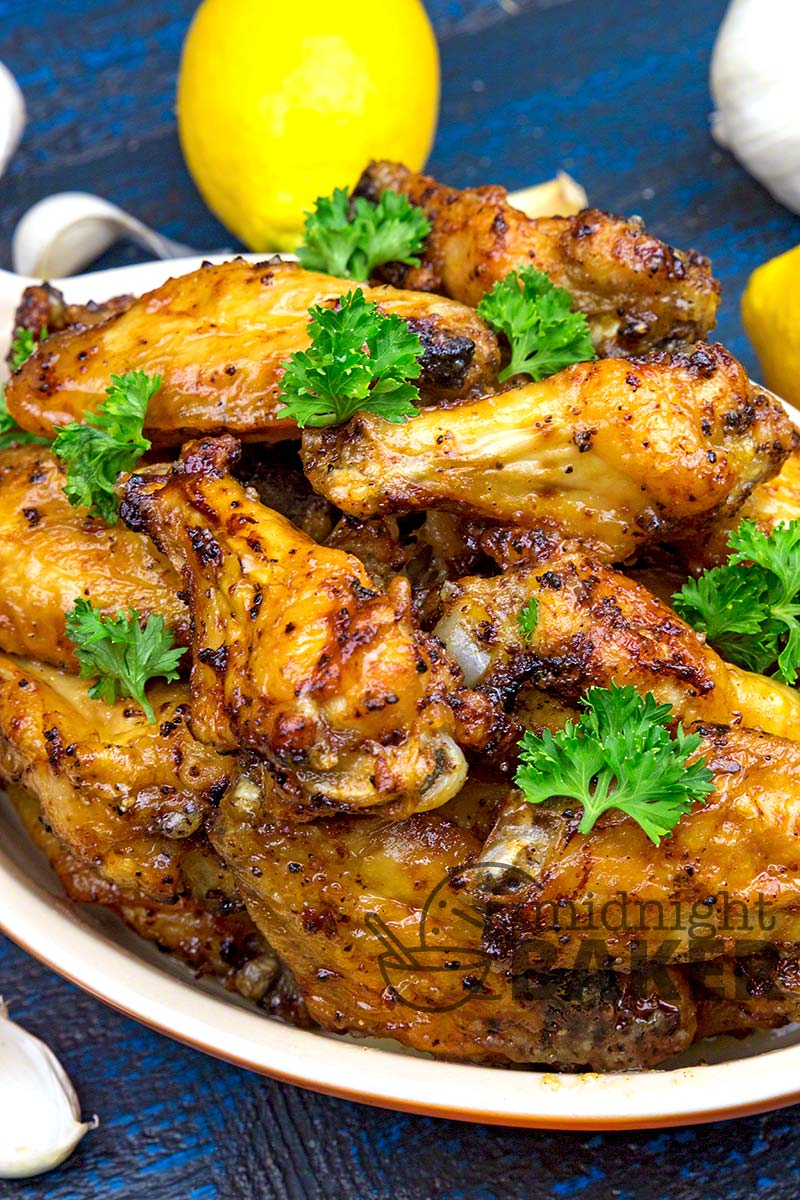 Lemon pepper wings are a snacking classic.