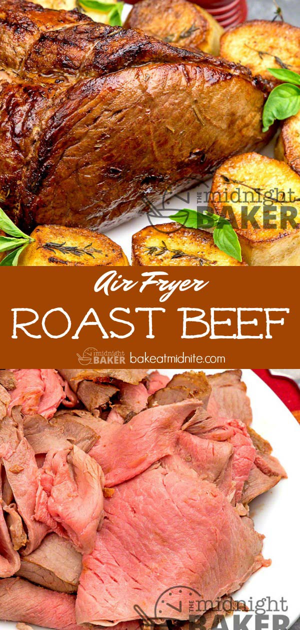 Perfect roast beef every time when you use your air fryer!