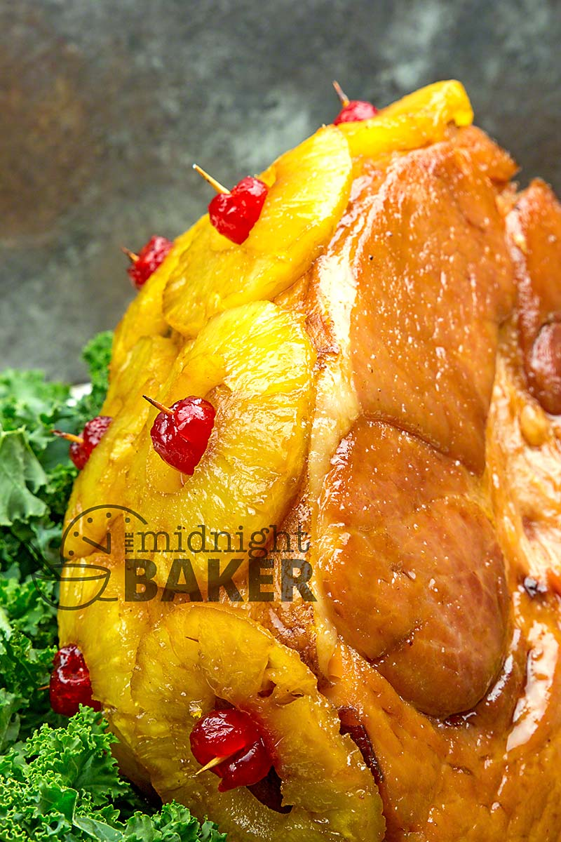 Ham glazed with the perfect combination of pineapple and brown sugar.