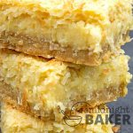 These coconut bars are rich and sinful, but they use ingredients that you likely have on hand