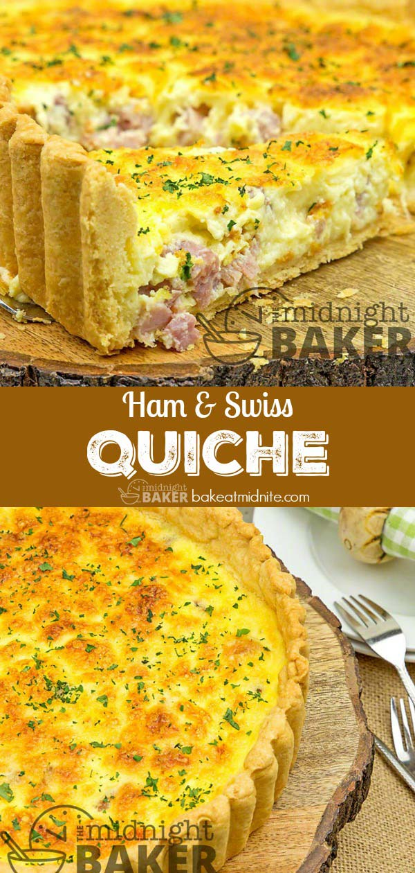 An easy quiche perfect for a weekend breakfast or brunch. Plus tips to make a perfect quiche every time.